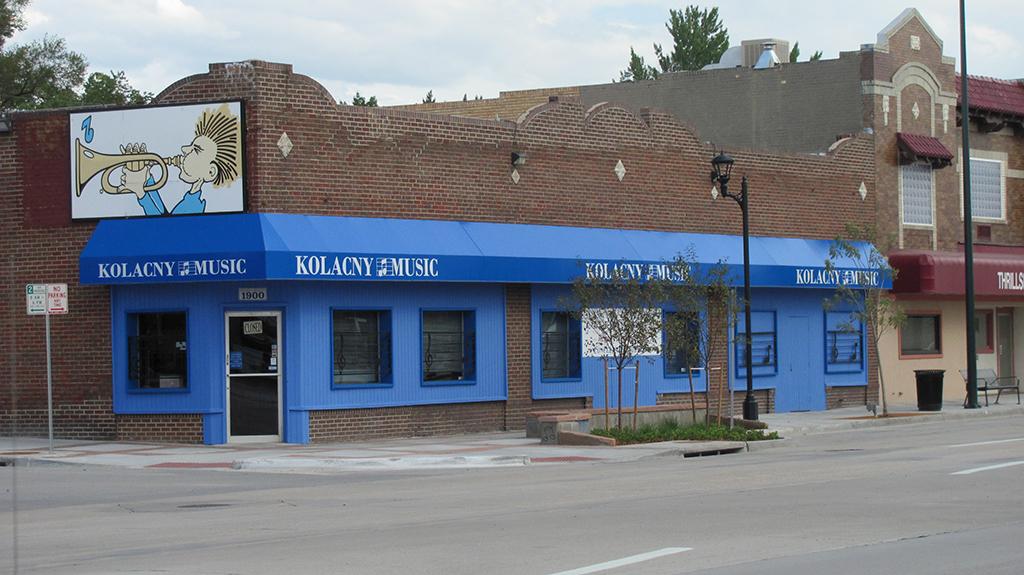 Kolacny Music Store Denver Exterior Painting