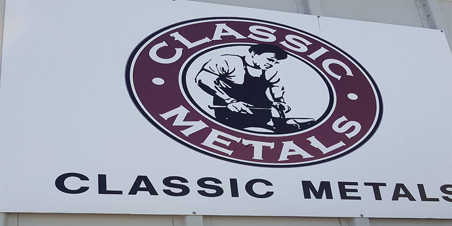 Classic Metals Warehouse Commercial Exterior Painting